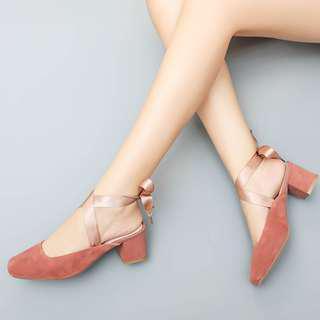 🚚 超美綁帶高跟鞋 全新未穿 #九月女裝半價