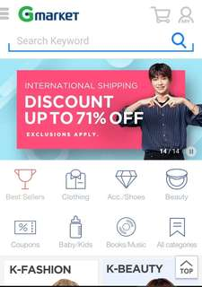[Direct shipping] Gmarket help purchase service