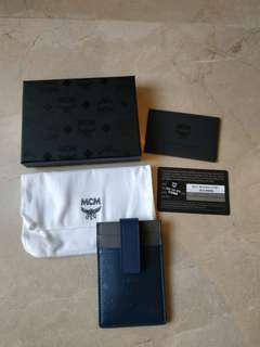 Card holder and money clip MCM
