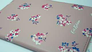 Cath Kidston 護照皮套 pink leather passport holder