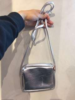 NEW! RUBI by Cotton On Silver Sling Bag