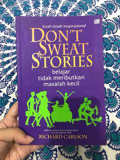 Don't Sweat Stories