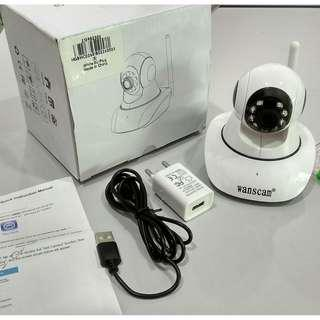 IP Network Camera 1.0MP 720P WiFi Night Visionwith Pan Tilt Function