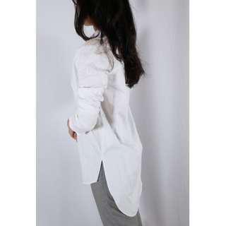 🚚 ZARA 滿滿細節感的長版襯衫