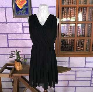 KOREAN ELEGANT BLACK DRESS