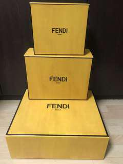 Authentic Fendi Magnetic Box for Bags