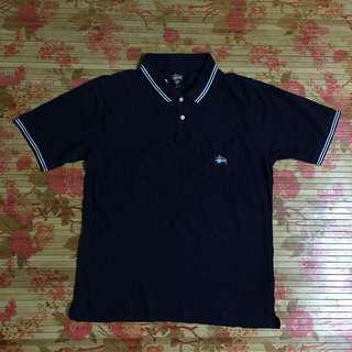 90s STUSSY Ringer Polo Tshirt