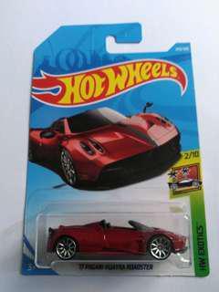 2018 Hot Wheels '17 Pagani Huayra Roadster (Red)