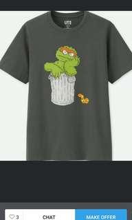 WTB Uniqlo Kaws x Sesame Street tees