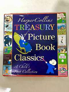 HarperCollins Treasury of Picture Book Classics: A Child's First Collection (Hardcovers)