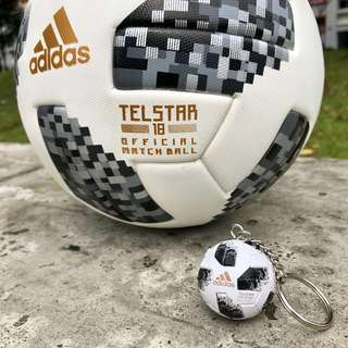 2018 World Cup Keychain (Telstar 18)
