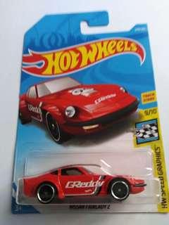 2018 Hot Wheels Nissan Fairlady Z (Red)