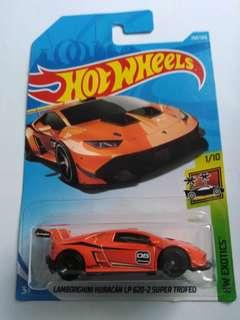 2018 Hot Wheels Lamborghini Huracan LP 620-2 Super Trofeo (Orange)
