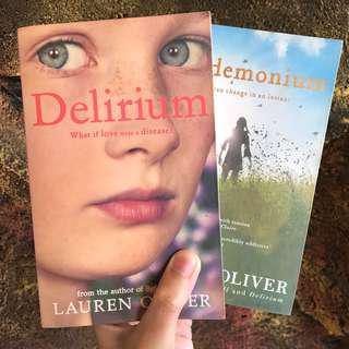 Delirium & Pandemonium by Lauren Oliver