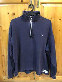 Fred Perry Zipper Turtleneck