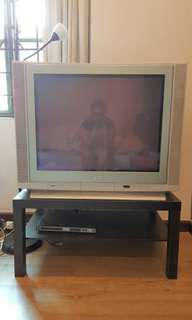 JVC Flat Screen TV CRT