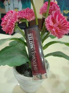 Maybelline The Powder Matte : Noir Red