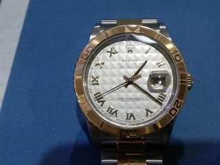 Rolex 16263 Datejust Thunderbird Turn-O-Groph Men Watch (36mm)