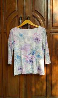Loose tshirt kaos baju panjang
