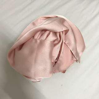 Satin Bubble Peach Pink