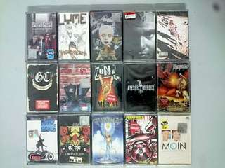 New and sealed cassette Kaset baru