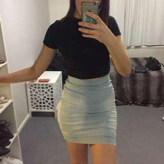 Authentic GUESS Denim Skirt