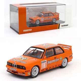 Tarmac Works 1:64 BMW M3 E30 DTM 1992 Jagermeister - Armin Hahne