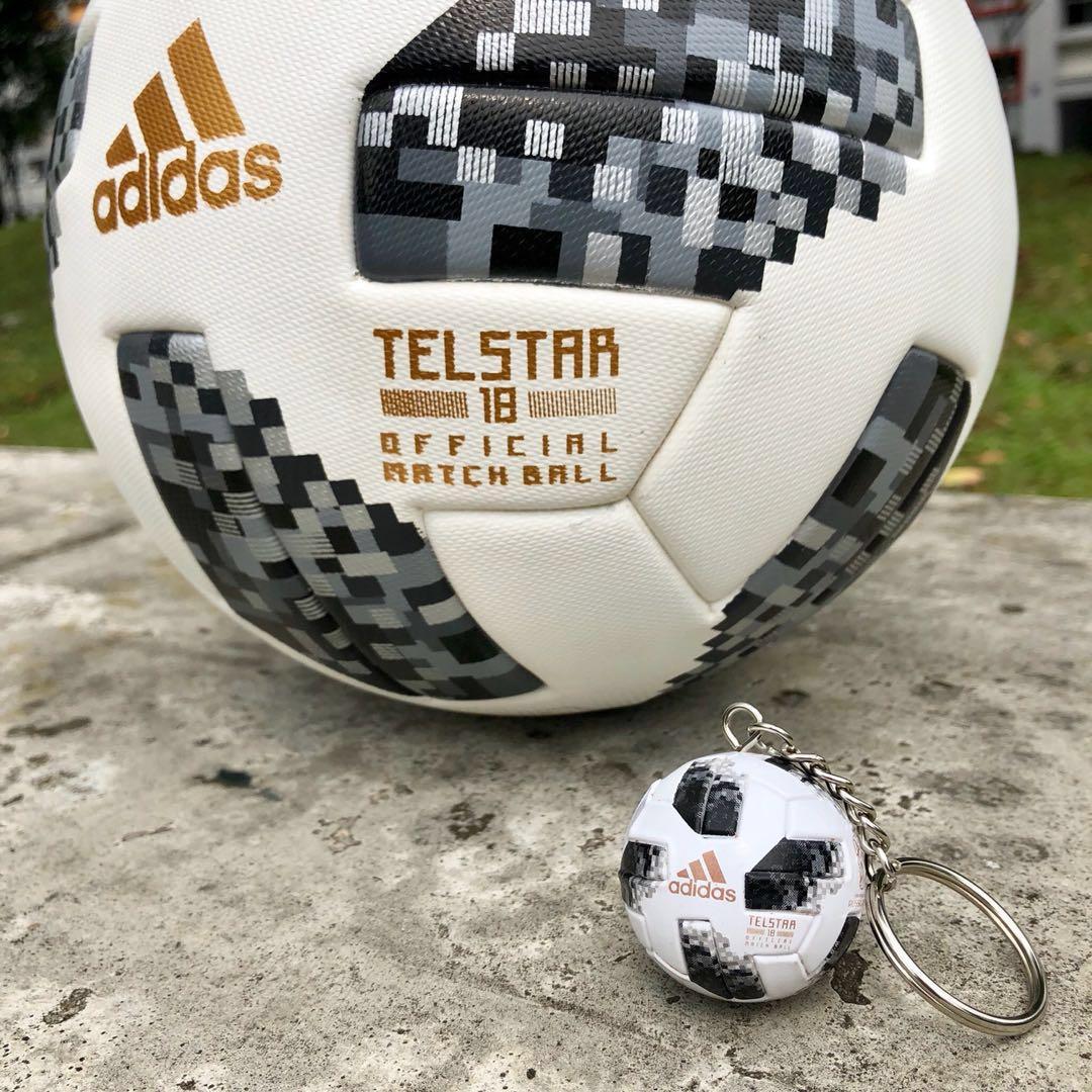c23b648ad World Cup 2018] - Telstar 18 Keychain, Sports, Sports & Games ...