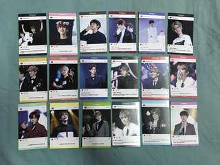 EXO Baekhyun Trading Card Set