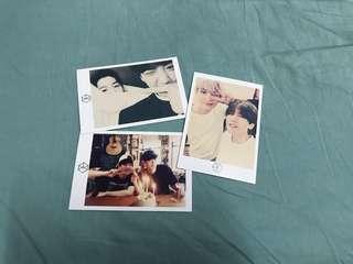 EXO Chanbaek Polaroid Set