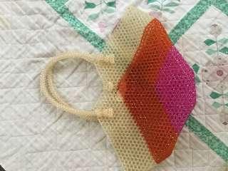 Hand made beaded Bag