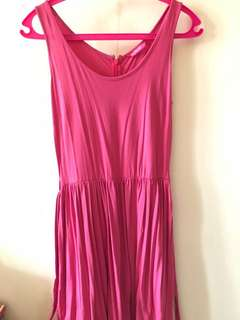 Ninety Degrees Pink Dress