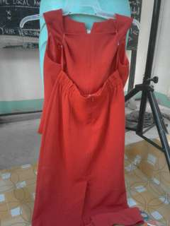 Formal Red Terno