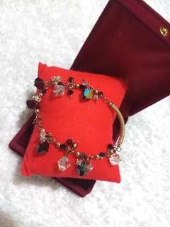 Gold & Precious Stone Ruby Bracelet