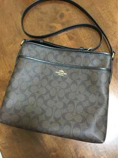 Repriced!! 💯% Authentic Coach File Bag