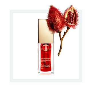 (包郵)Clarins Lip Comfort Oil 03 嬌艷紅莓