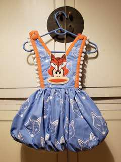 Paul Frank Baby dress with monkey fox for 1 year old