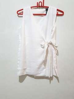 White kimono tops