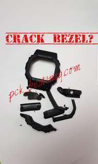 Casio G Shock Dw5600 Authentic Bezel And Aftermarket Custom Stainless-steel Bull Bar Bundle Deal.