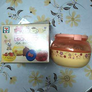 全新7-11 Hello Kitty雙層儲存盒