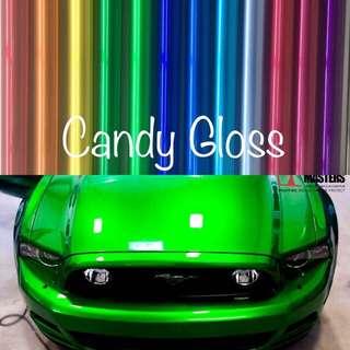 Car Wrap Candy Gloss