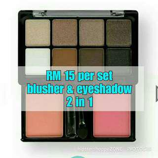 Eyeshadow + Blusher
