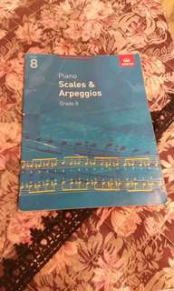 Piano Grade 8 Scales and Arpeggios (ABRSM)