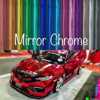 Car Wrap Mirror Chrome