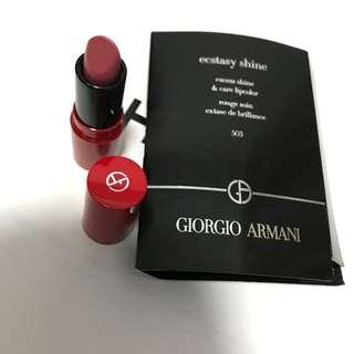 Giorgio Armani Lipstick mini size 迷你唇膏