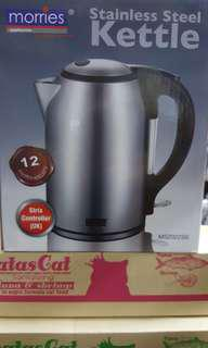 New Morries Kettle Stainless steel 1.8 L