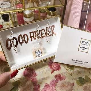 Chanel mini perfume sample box set香水版仔