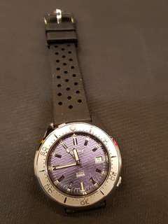 Squale 50ATMOS Onda Purple! Ltd Edition