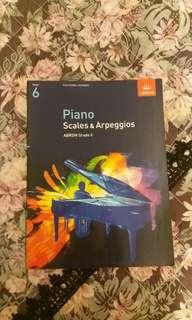Piano Grade 6 Scales and Arpeggios (ABRSM)