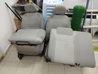 Seat serta doortrim myvi 1st model